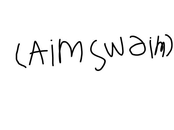 (aim swiam)