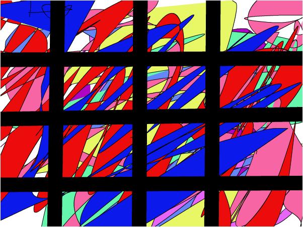 kleur achter de tralies