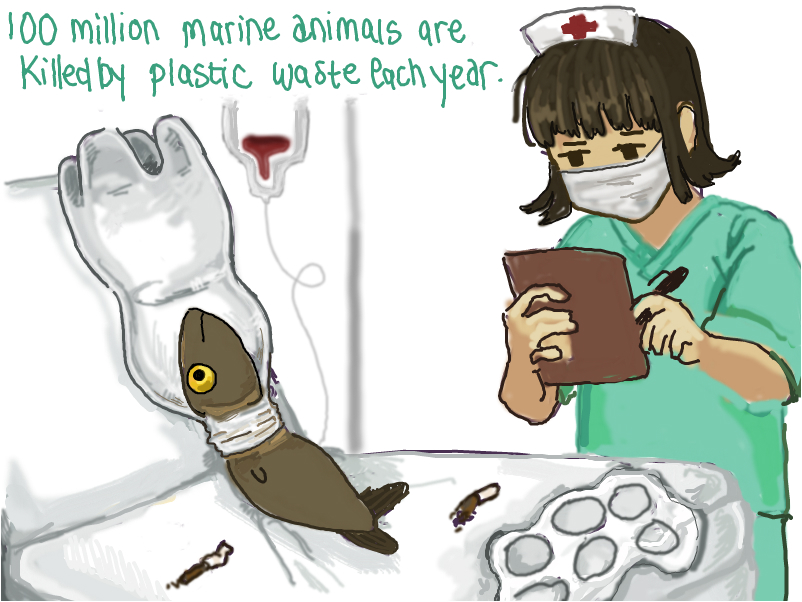 ocean pollution:[