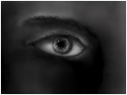 Fear in the eye