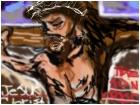 -Jesus Christ On The Cross!-