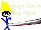 Vegeta's pole-butt