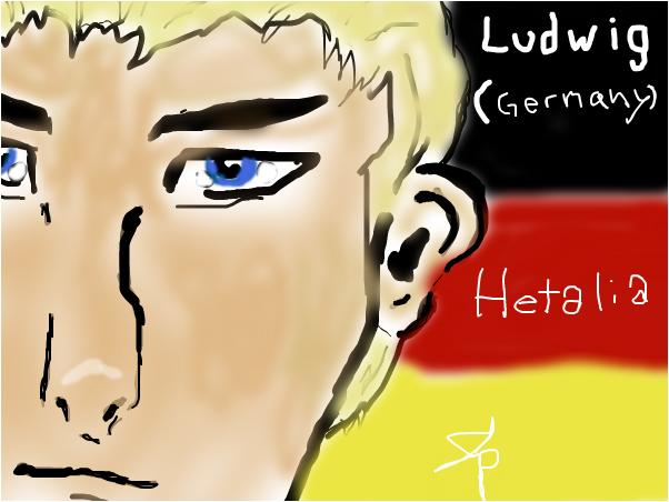 Ludwig Germany Hetalia