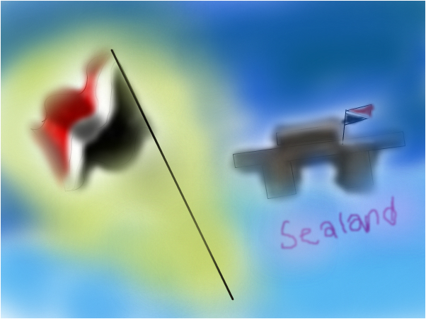 """Sealand """"worlds smallest country"""""""
