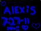 alexis i love u!!