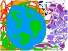abstract earth(original)