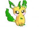 chibi leafeon! so cute ^^