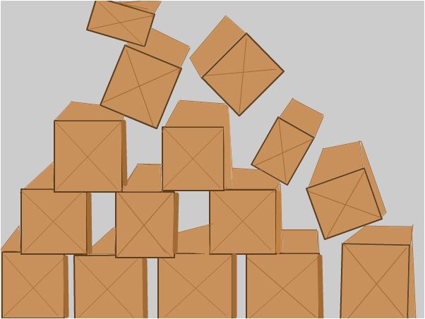 Falling Boxes