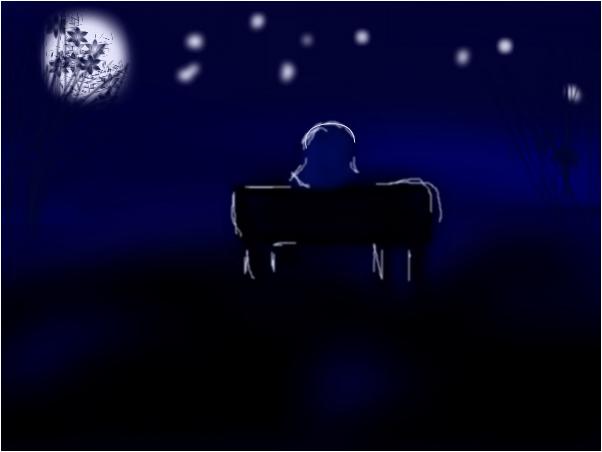 SITTING UNDER DA MOON LIGHT 2!