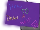 how to draw a wolf (head)