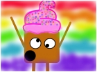 Hallucinating cupcake!!