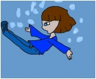 its me sokka falling out of a window its fake