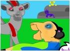 lion king tfp: miko and starscream