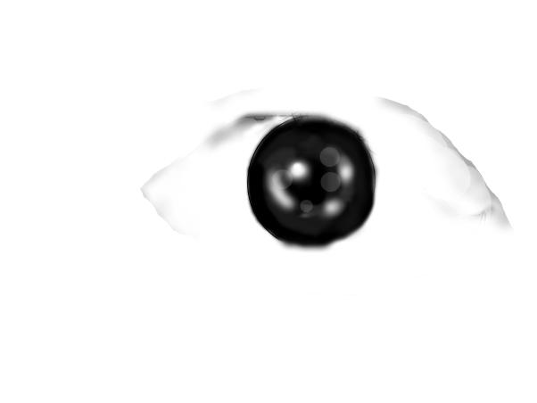 Semi realistic eye