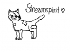 Streamspirit, my fursona