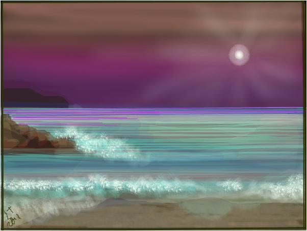 Seascape noir