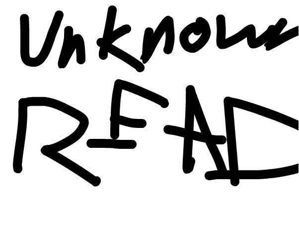 UNKNOWN READ